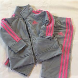 12 month Adidas jumpsuit